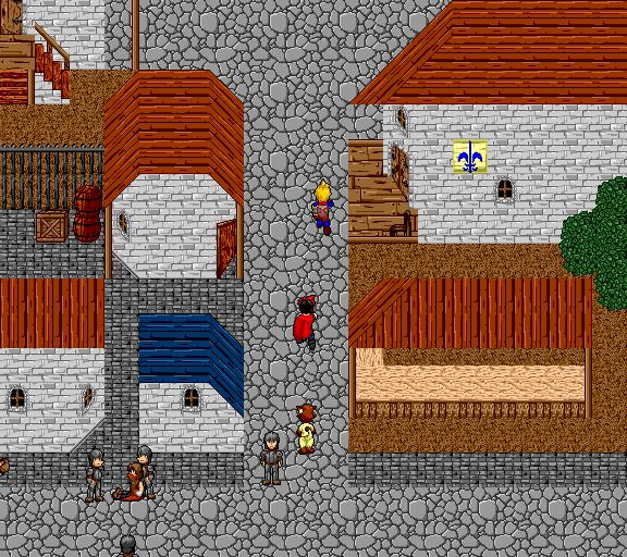 toward the guild