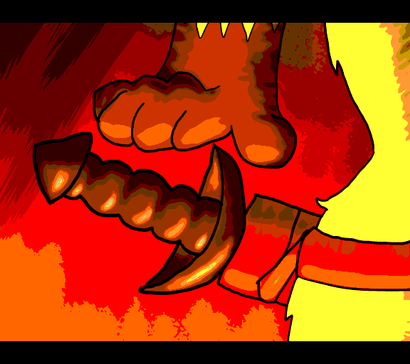 reach for sword