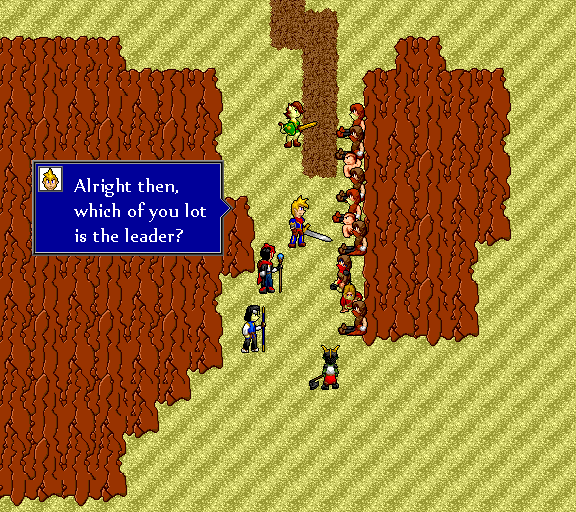 Alright then, which of you lot is the leader?