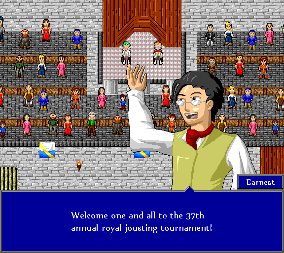 Welcome one and all to the 37th annual royal jousting tournament!