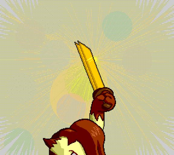 draw sword