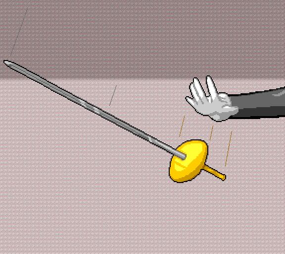 drop sword