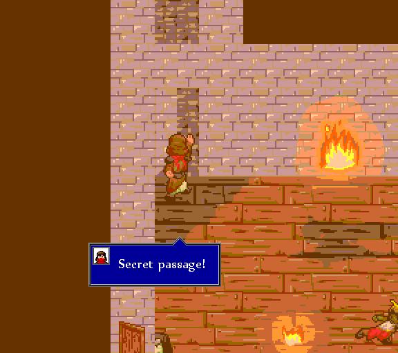 Secret passage!
